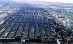 КАМАЗ - восстановление завода после пожара