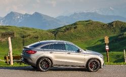 Тестируем Mercedes Benz GLE Coupe