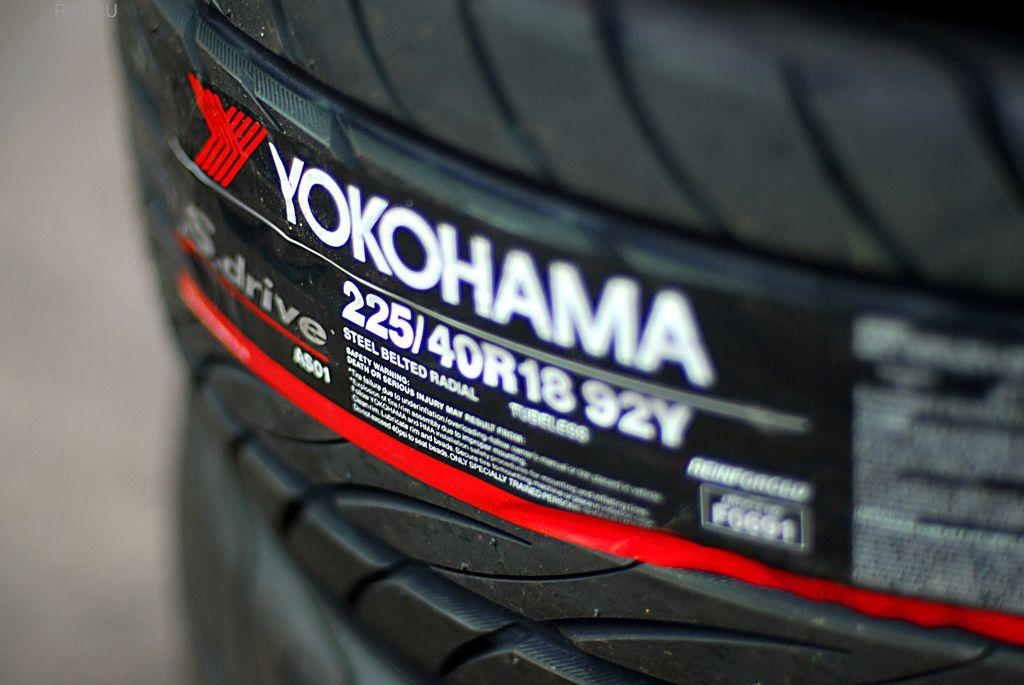 Автомобильные шины под маркой Yokohama