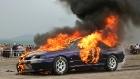 Способы борьбы с автомобильным пожаром.