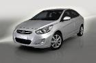 Новая Hyundai Solaris 2012.