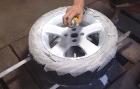 Как покрасить литые диски в гаражных условиях?