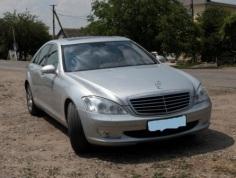 Mercedes-Benz S 450, 2007 г. в городе КРАСНОДАР