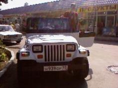 Jeep Wrangler, 1995 г. в городе СОЧИ