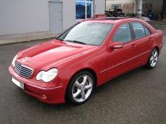 Mercedes-Benz C 230, 2003 г. в городе КРАСНОДАР