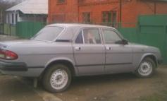 ГАЗ 3110, 1998 г. в городе Северский район