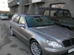 Mercedes-Benz S 350, 2004 г. в городе КРАСНОДАР