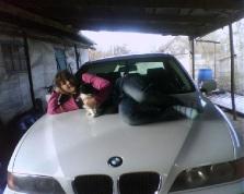 BMW 520, 2001 г. в городе Белореченский район