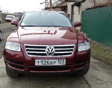 Volkswagen Touareg, 2003 г. в городе КРАСНОДАР