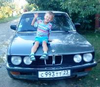 BMW 518, 1985 г. в городе Северский район