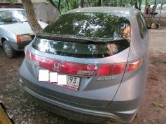 Honda Civic, 2008 г. в городе КРАСНОДАР