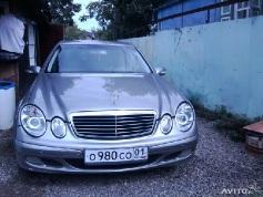 Mercedes-Benz E 200, 2003 г. в городе КРАСНОДАР
