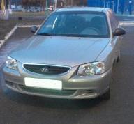 Hyundai Accent, 2009 г. в городе КРАСНОДАР