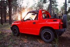 Suzuki Vitara, 1996 г. в городе РОСТОВ