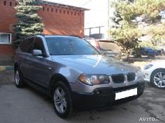 BMW X3, 2006 г. в городе КРАСНОДАР