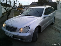 Mercedes-Benz C 200, 2003 г. в городе КРАСНОДАР