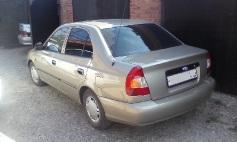 Hyundai Accent, 2007 г. в городе Ленинградский район