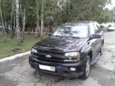 Chevrolet Trailblazer, 2008 г. в городе Крымский район