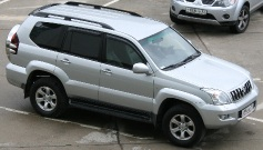 Toyota Land Cruiser Prado 120, 2005 г. в городе СОЧИ