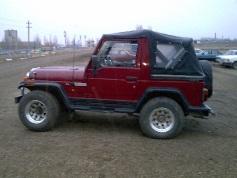 Jeep Wrangler, 1995 г. в городе ДРУГИЕ РЕГИОНЫ