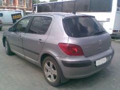 Peugeot 307, 2004 г. в городе КРАСНОДАР