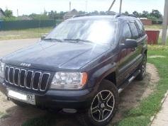 Jeep Grand Cherokee, 2001 г. в городе Брюховецкий район