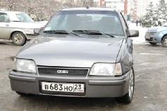 Opel Kadett, 1987 г. в городе КРАСНОДАР