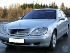 Mercedes-Benz S 500, 2003 г. в городе КРАСНОДАР