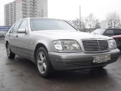 Mercedes-Benz S 500, 1997 г. в городе КРАСНОДАР