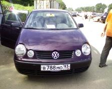 Volkswagen Polo, 2002 г. в городе Тихорецкий район