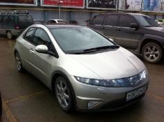 Honda Civic, 2008 г. в городе СОЧИ