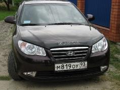 Hyundai Elantra, 2008 г. в городе КРАСНОДАР
