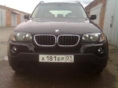 BMW X3, 2004 г. в городе Белореченский район