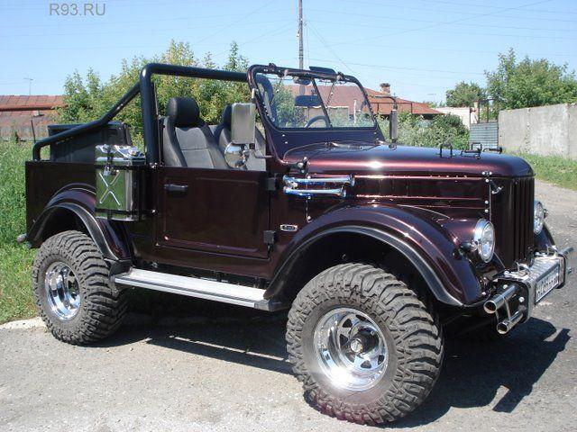 ГАЗ-69 - Портфолио дизайнеров