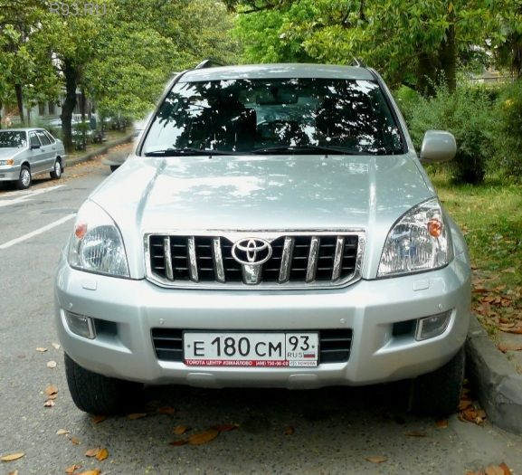 ������� Toyota Land Cruiser Prado 120 �������, ��������� ...