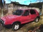 Продаю авто Volkswagen Golf 89г