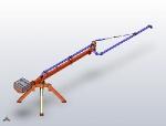 Бетонораспределительная стрела STORK - 12 метров, полугидравлическая