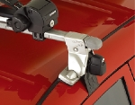 Базовое крепление ИННО для автомобилей с гладкой крышей