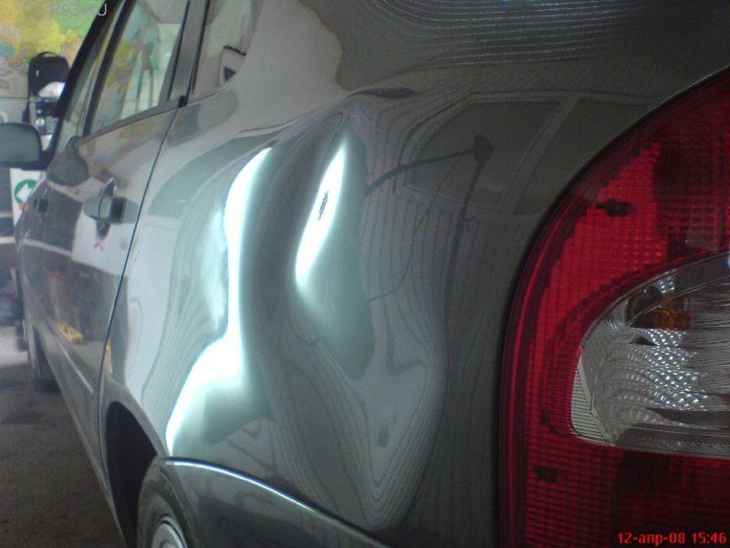 Ремонт вмятин и царапин на автомобиле