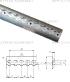 Алюминиевая рейка ТРА-1 длина 2,95 метра