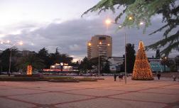Новогодняя елка в Сочи уже установлена - С Новым Годом Сочи