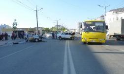 Хроника ДТП в крае за 29 апреля - 1 мая 2012 года