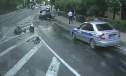 ДТП на Курортном проспекте, столкнулись «шестерка» и «водовоз»
