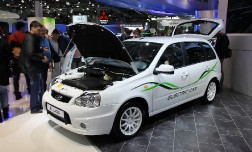 Новая Kalina и электромобиль EL Lada