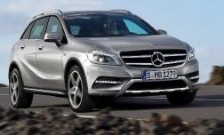 Кроссовер Mercedes-Benz GLA проходит внедорожные испытания