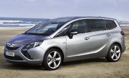 Opel Zafira в новой обертке