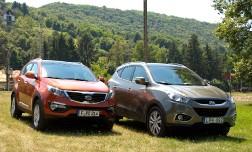 Hyundai Tucson и Kia Sportage – каждому своё