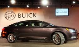 Седан 2014 Buick LaCrosse на New York Auto Show