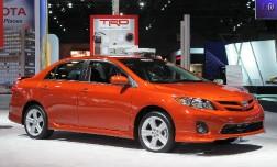 Toyota Corolla – с любимыми не расстаемся