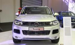Volkswagen Touareg – новая улыбка боксера